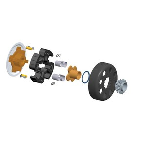 Hilliard Inferno Flame Racing Clutch & Parts