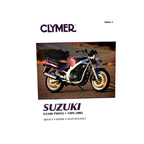 Suzuki Motorcycle Repair & Service Manuals