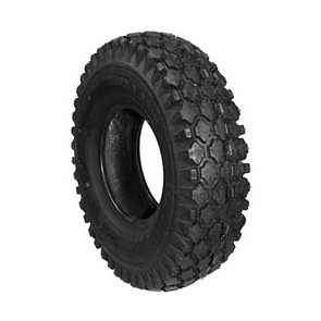 "4"" Studded or Knobby Tires"