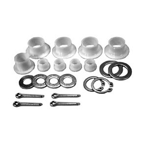 Snapper Front End Repair Kits, King Pins, Yoke Lift, Springs, Lift Cables