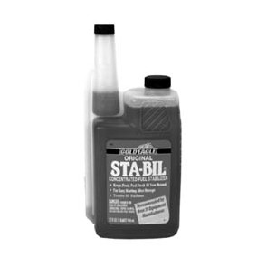 Additives (Sta-Bil & Torco Fuel Stabilizer)