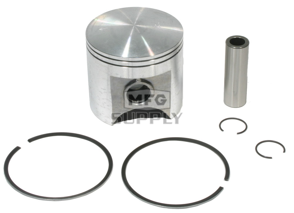 020 oversized Piston Assembly for 77-81 Yamaha Enticer 250 Snowmobiles