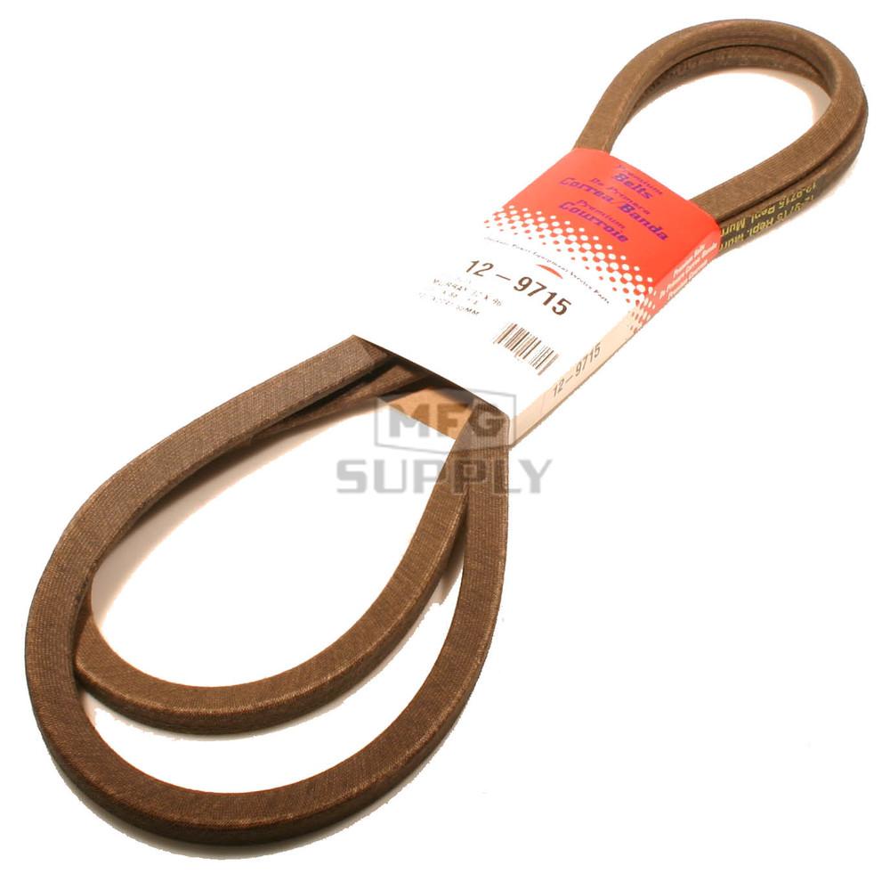 Murray Lawn Mower Belts : Murray blade drive belt lawn mower parts mfg supply