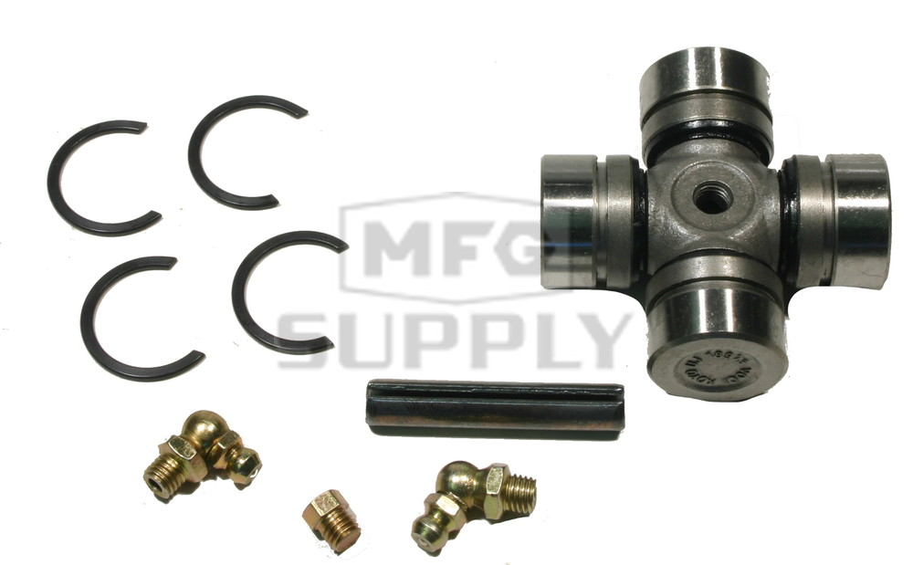 BossBearing Both Rear Drive Shaft U Joint Differential Side for Polaris Ranger 500 4x4 2004 2005 2006