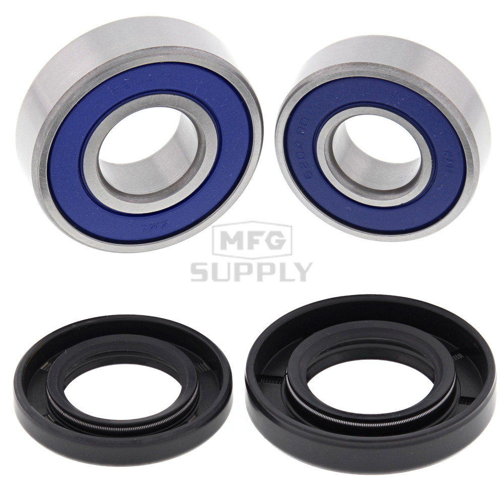 Kawasaki KSF50/80 and Suzuki LT80, LTA50, LTZ50 and LTZ90 Front Wheel  Bearing Kit with Seals