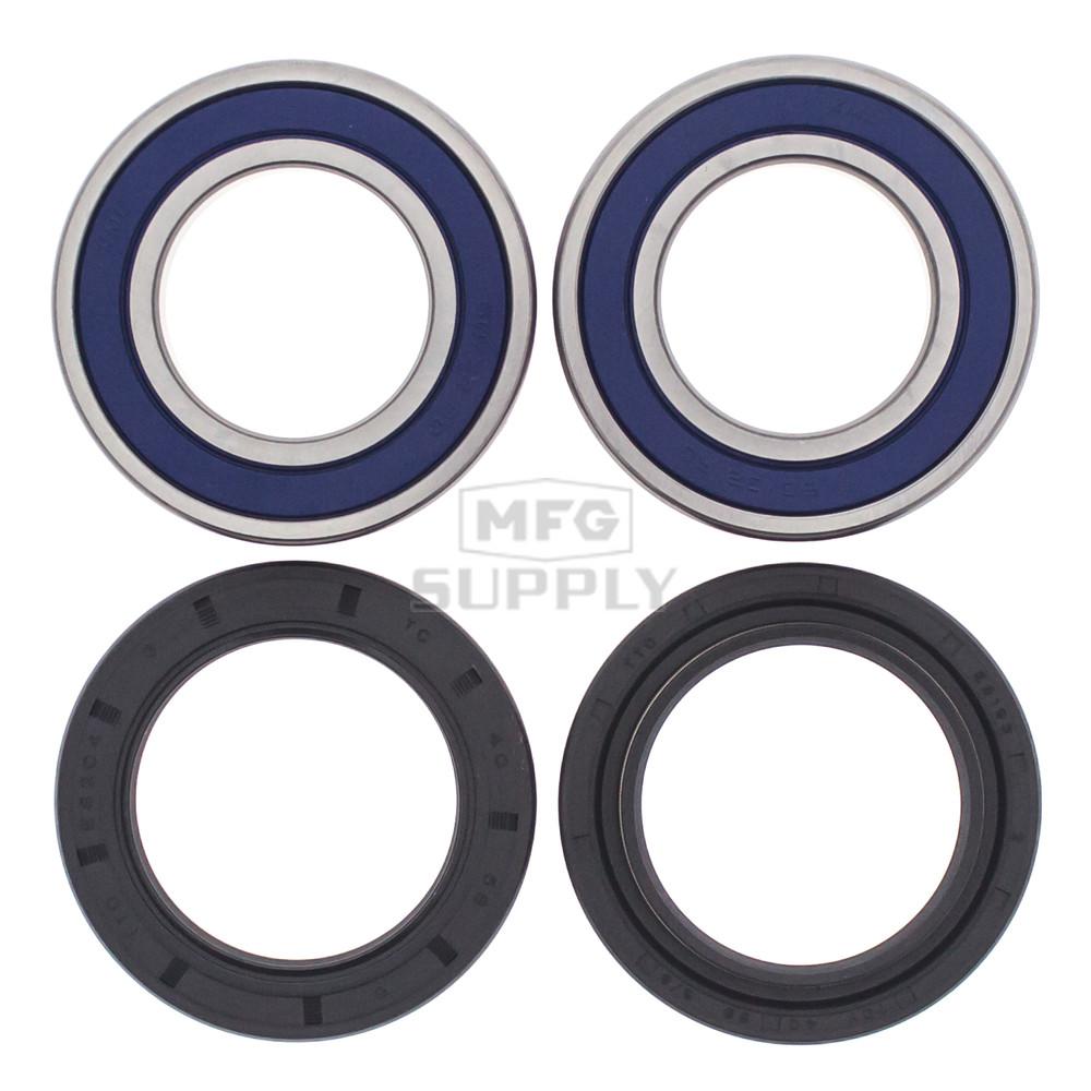 25 1299 suzuki rear wheel bearing kit with seals 89 02 quadrunner