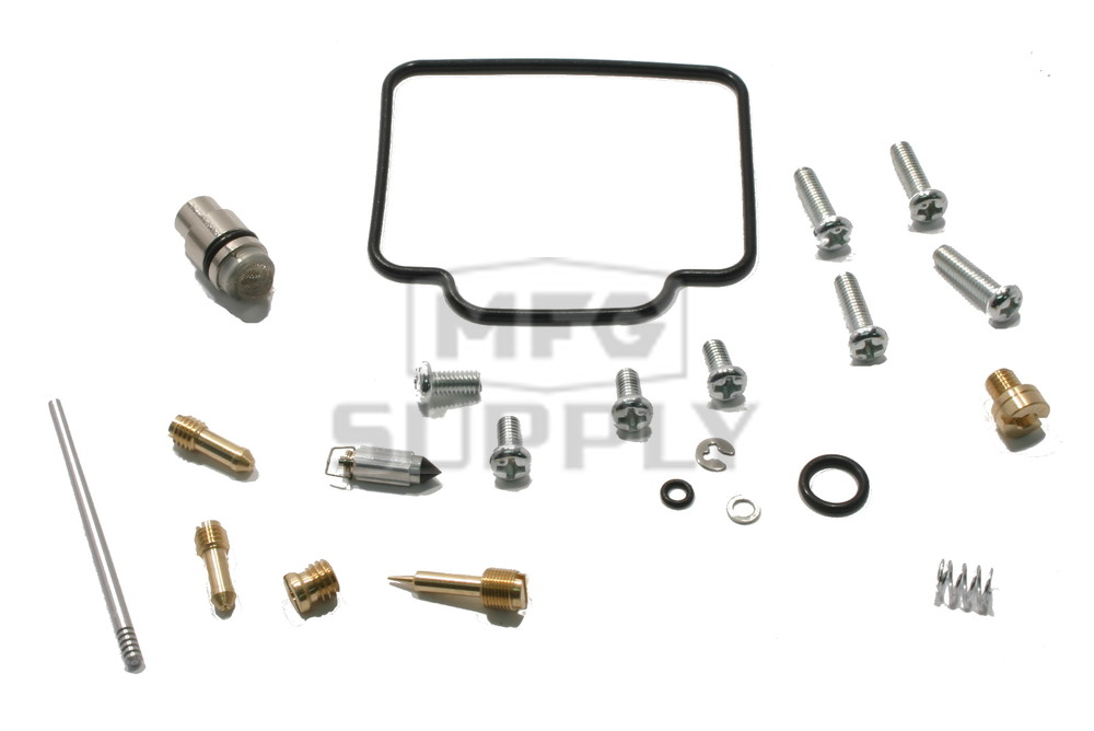 complete carburetor rebuild kit for many 03