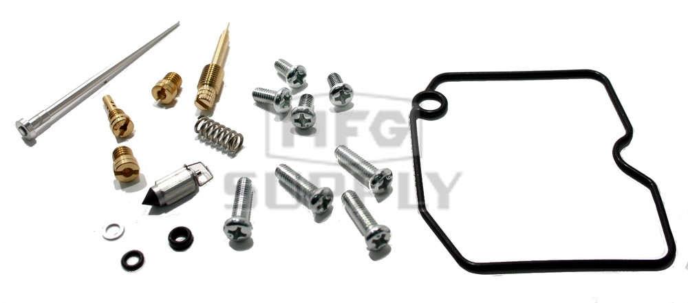 complete atv carburetor rebuild kit for 04