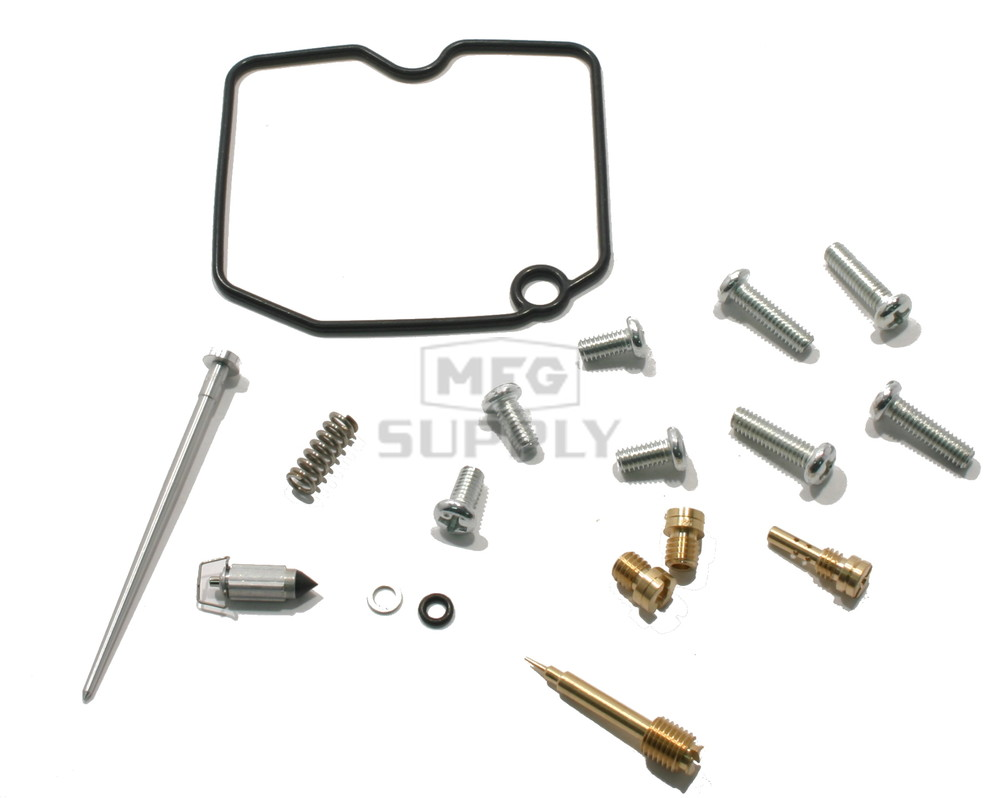 complete atv carburetor rebuild kit for 08