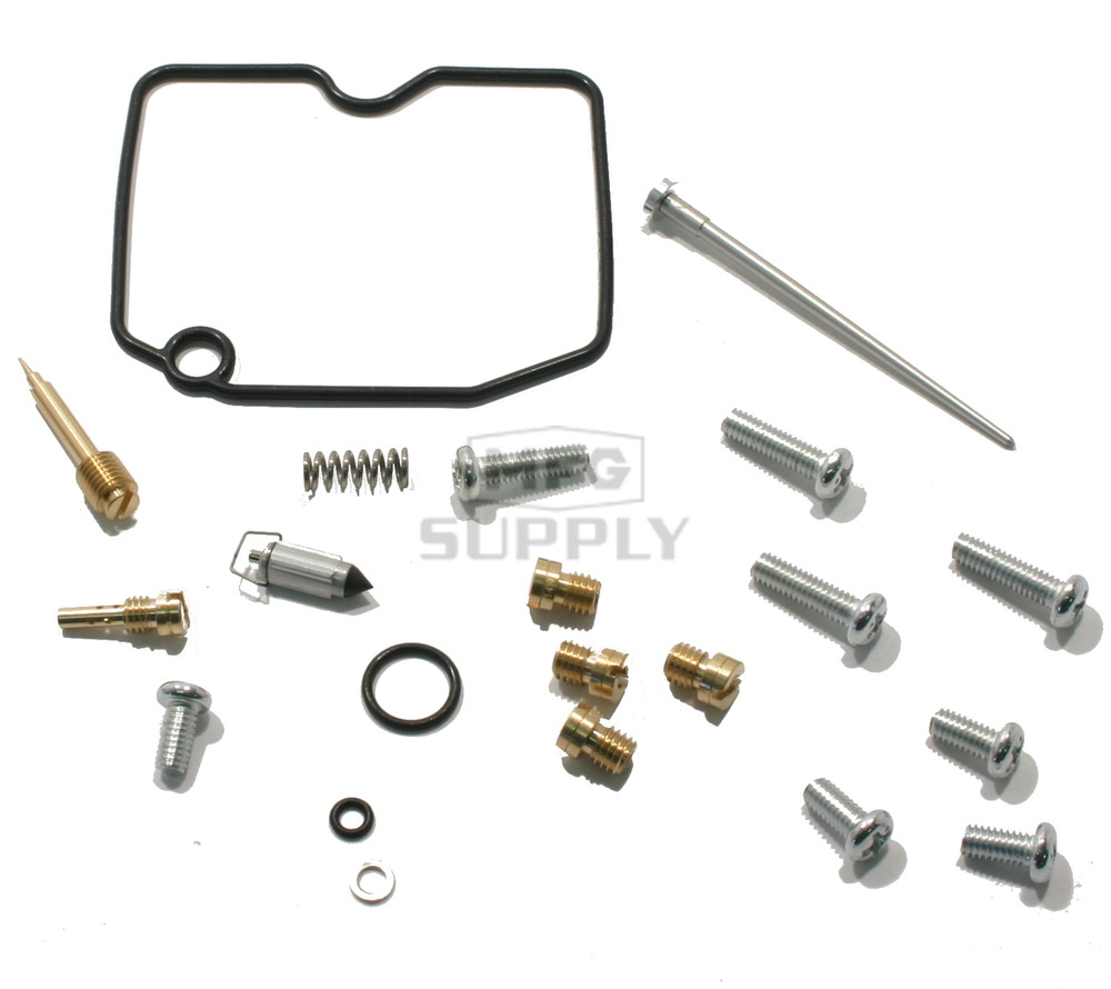 complete atv carburetor rebuild kit for 02