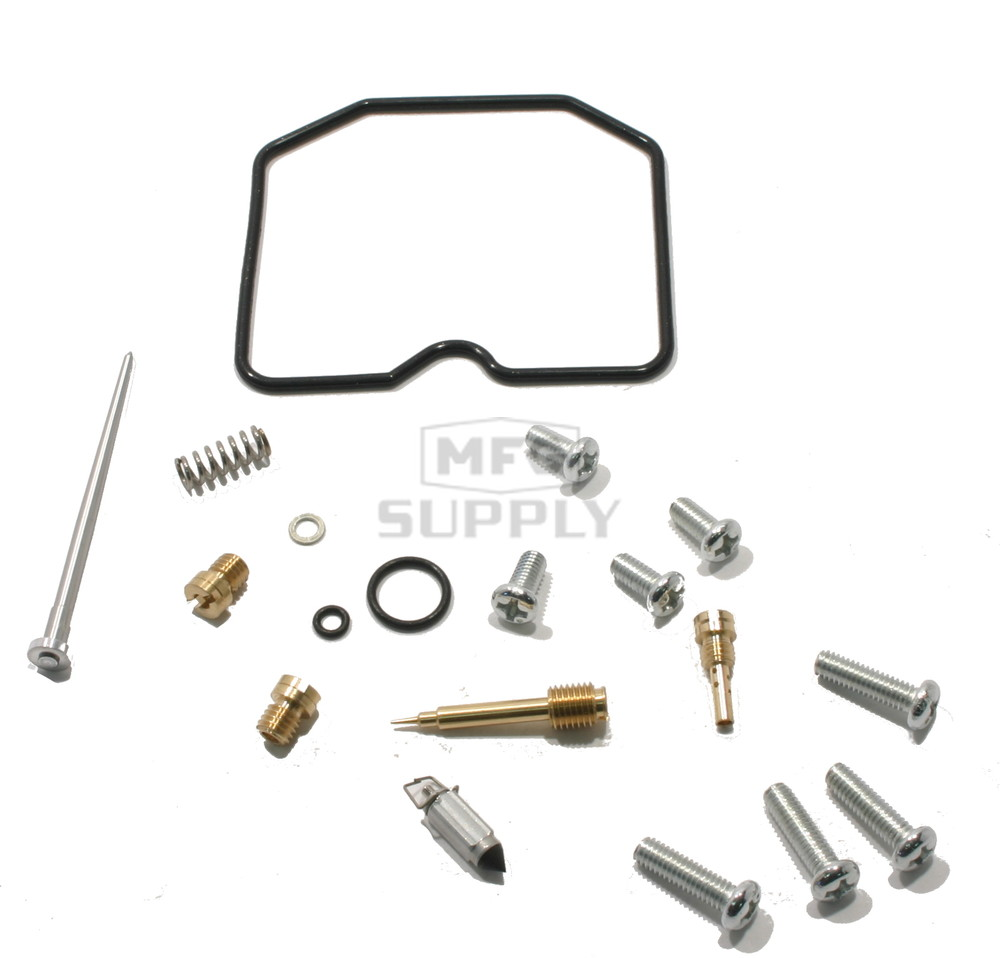 complete atv carburetor rebuild kit for 03