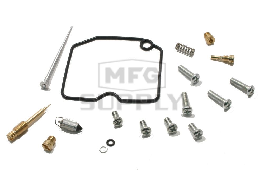 complete atv carburetor rebuild kit for 11