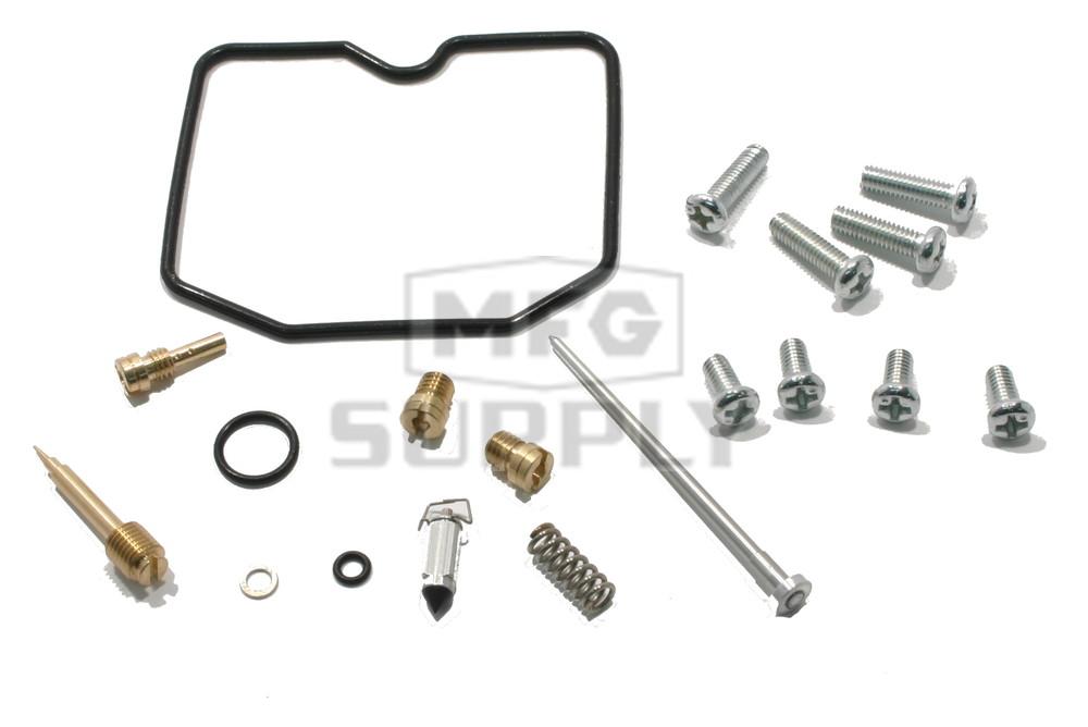 complete atv carburetor rebuild kit for 09