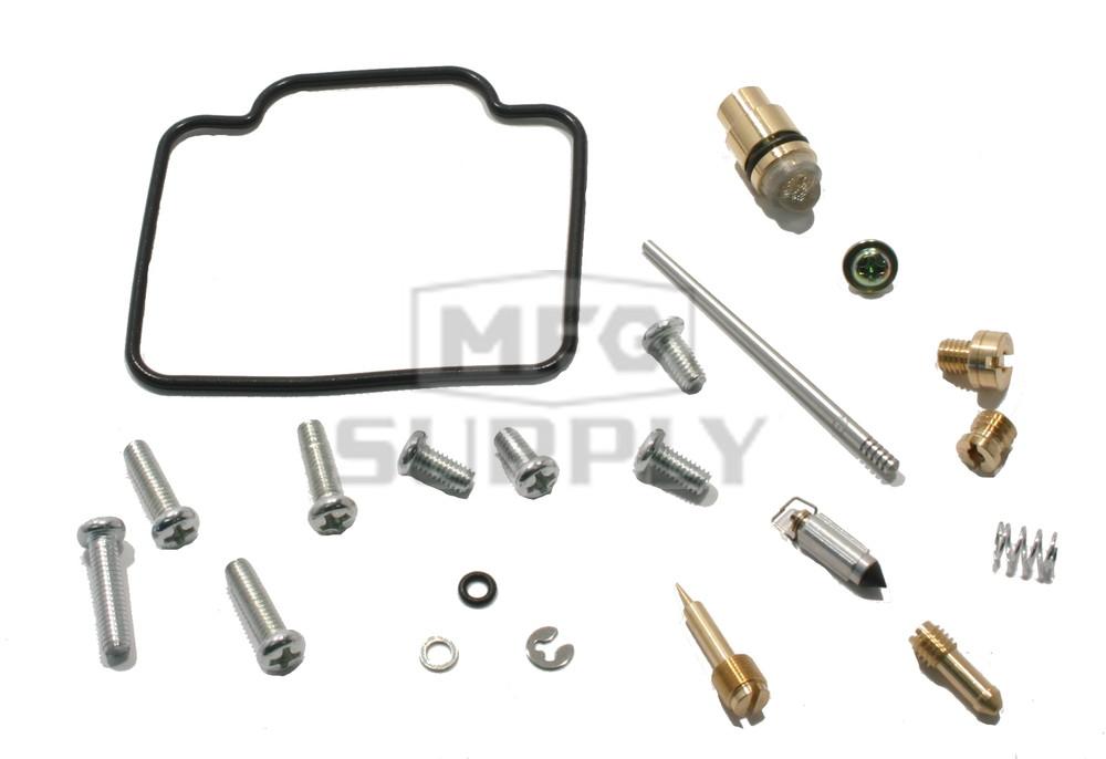 complete atv carburetor rebuild kit for many 98