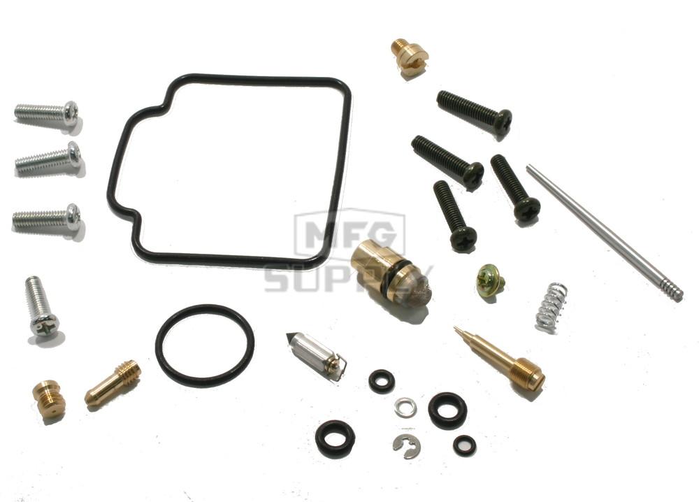 complete atv carburetor rebuild kit for 99