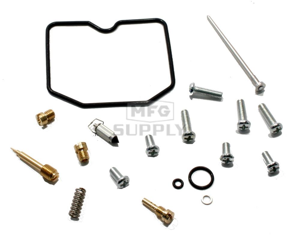 complete atv carburetor rebuild kit for 12