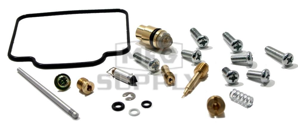 Complete Atv Carburetor Rebuild Kit For 99 04 Yamaha Yfm250 Beartracker Atv