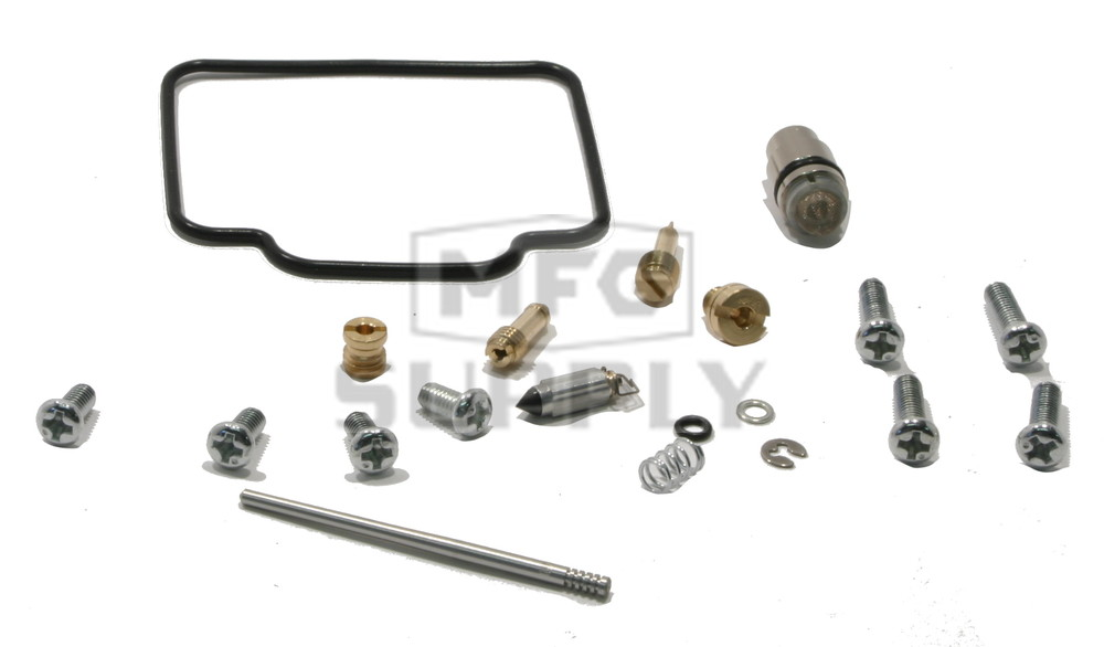 complete atv carburetor rebuild kit for 00