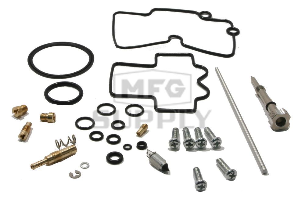 complete atv carburetor rebuild kit for 2006 honda trx450r