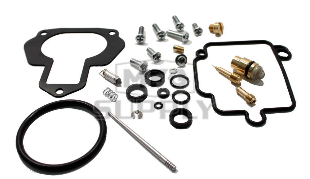 Complete Atv Carburetor Rebuild Kit For 96 98 Yamaha