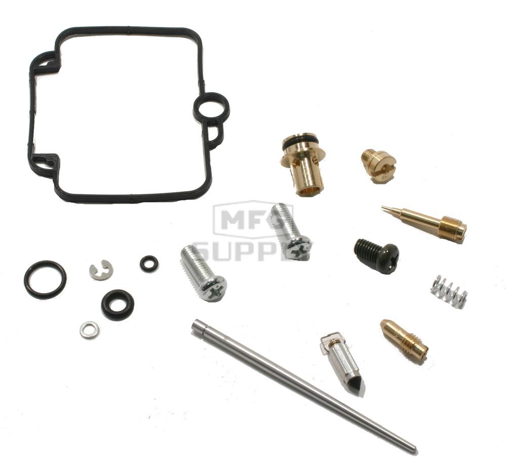 complete atv carburetor rebuild kit for 98