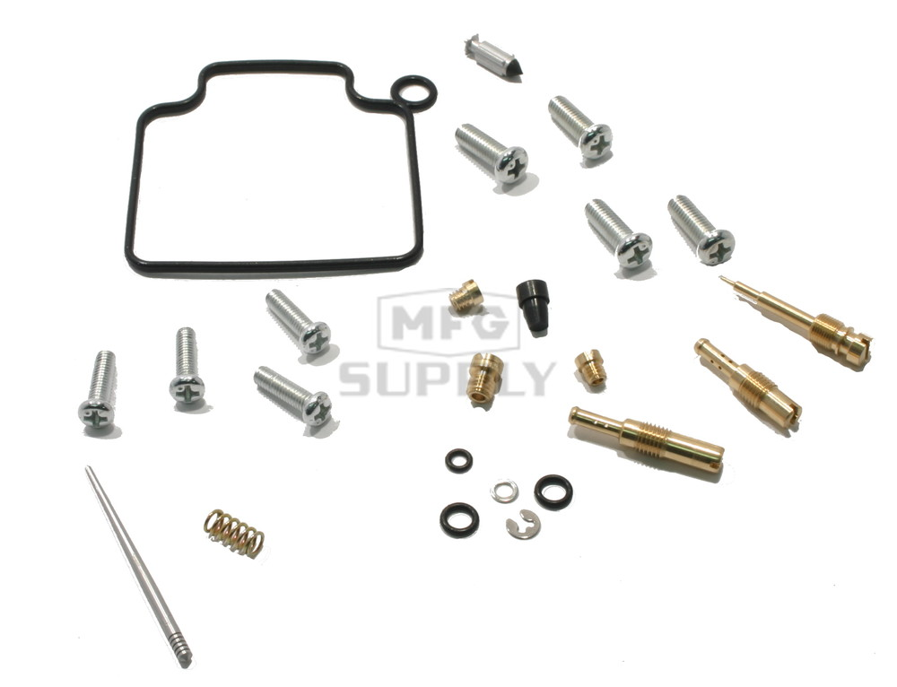 complete atv carburetor rebuild kit for 91