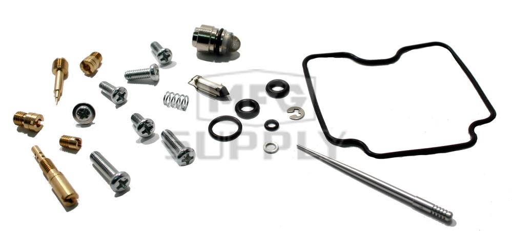 complete atv carburetor rebuild kit for 03