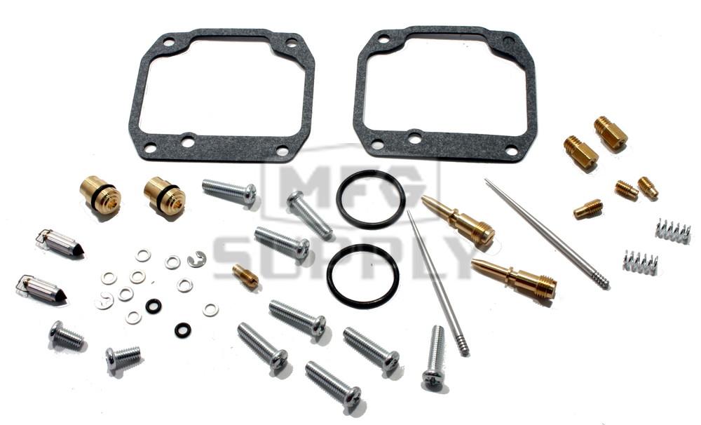 Complete Carburetors Rebuild Kit for 87-09 Yamaha YFZ350 Banshee (for both  carbs)