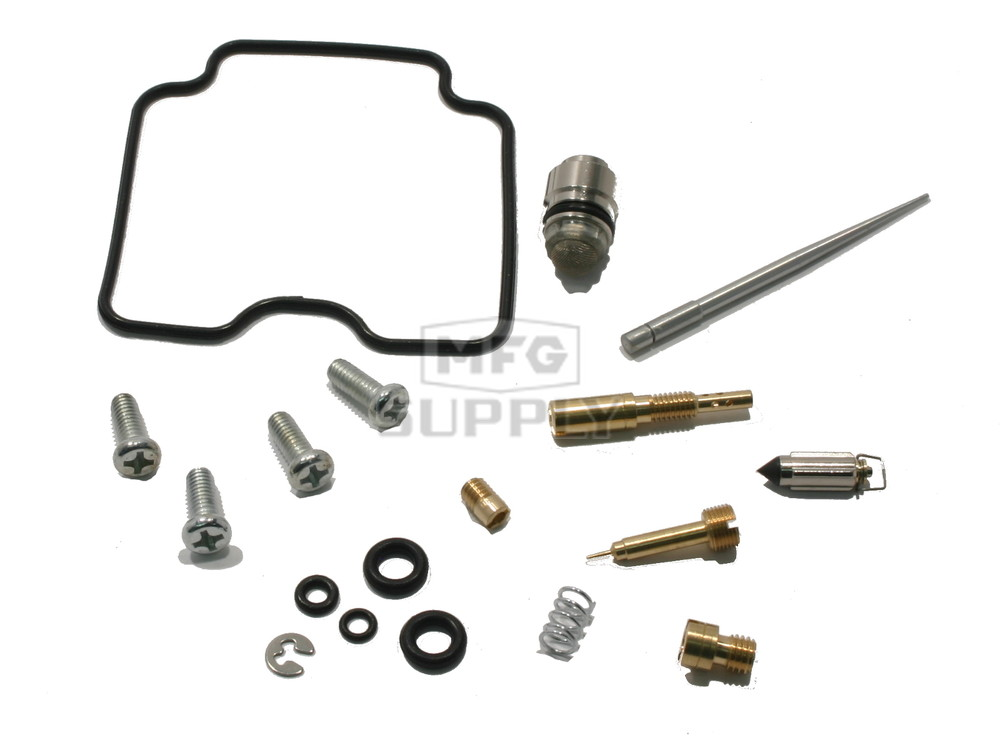complete atv carburetor rebuild kit for 06