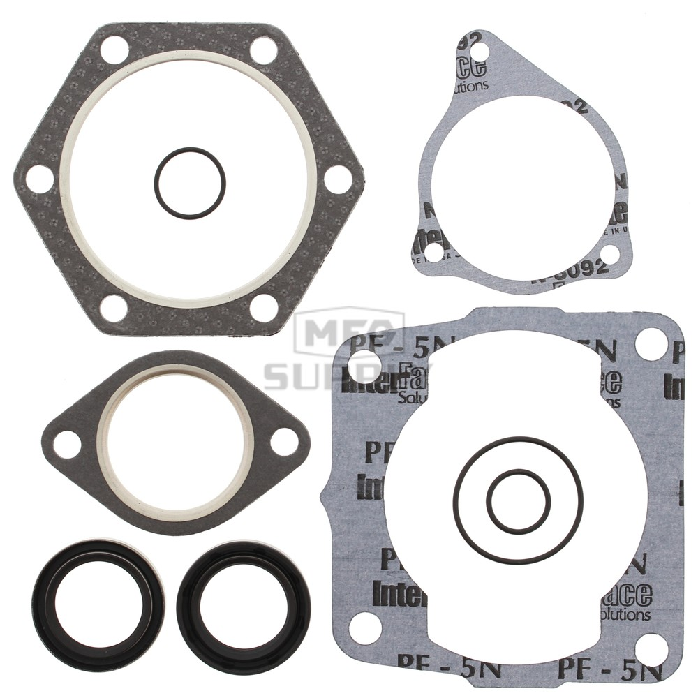 Gasket Set with Oil Seals For 1997 Polaris Xplorer 300 4x4 ATV~Winderosa 811807