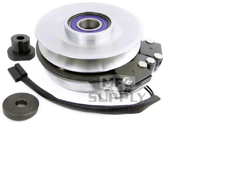 Electric pto clutch 1 1 8 id ccw pulley 5 8 for Metal craft trailers parts