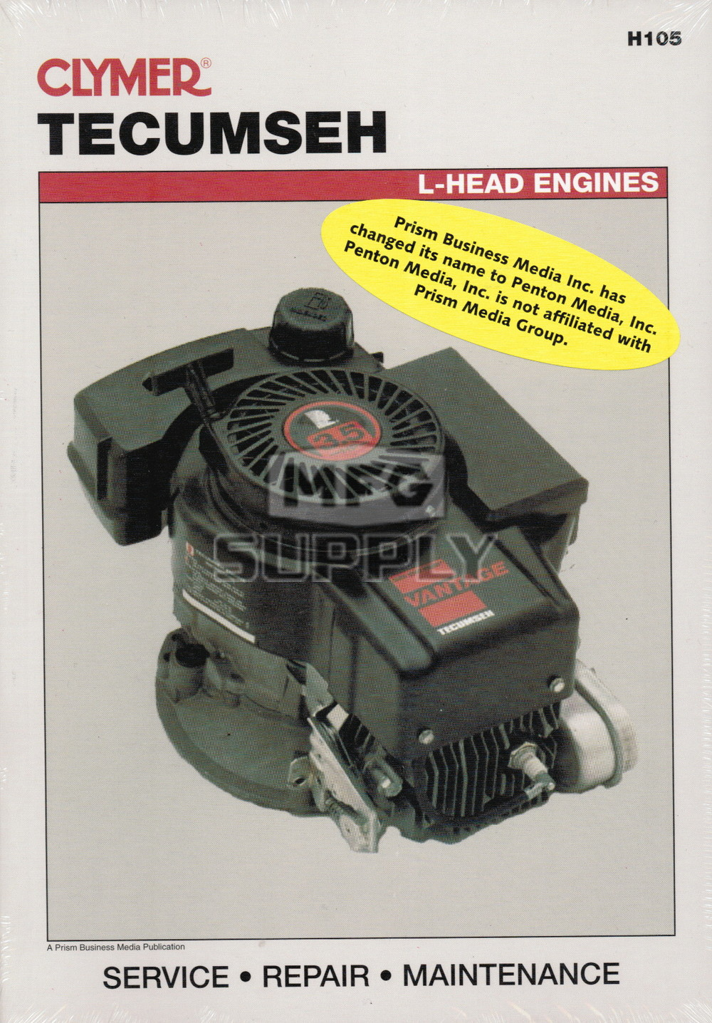 Tecumseh L Head Engines Repair Manual Small Engine Parts Mfg Supply