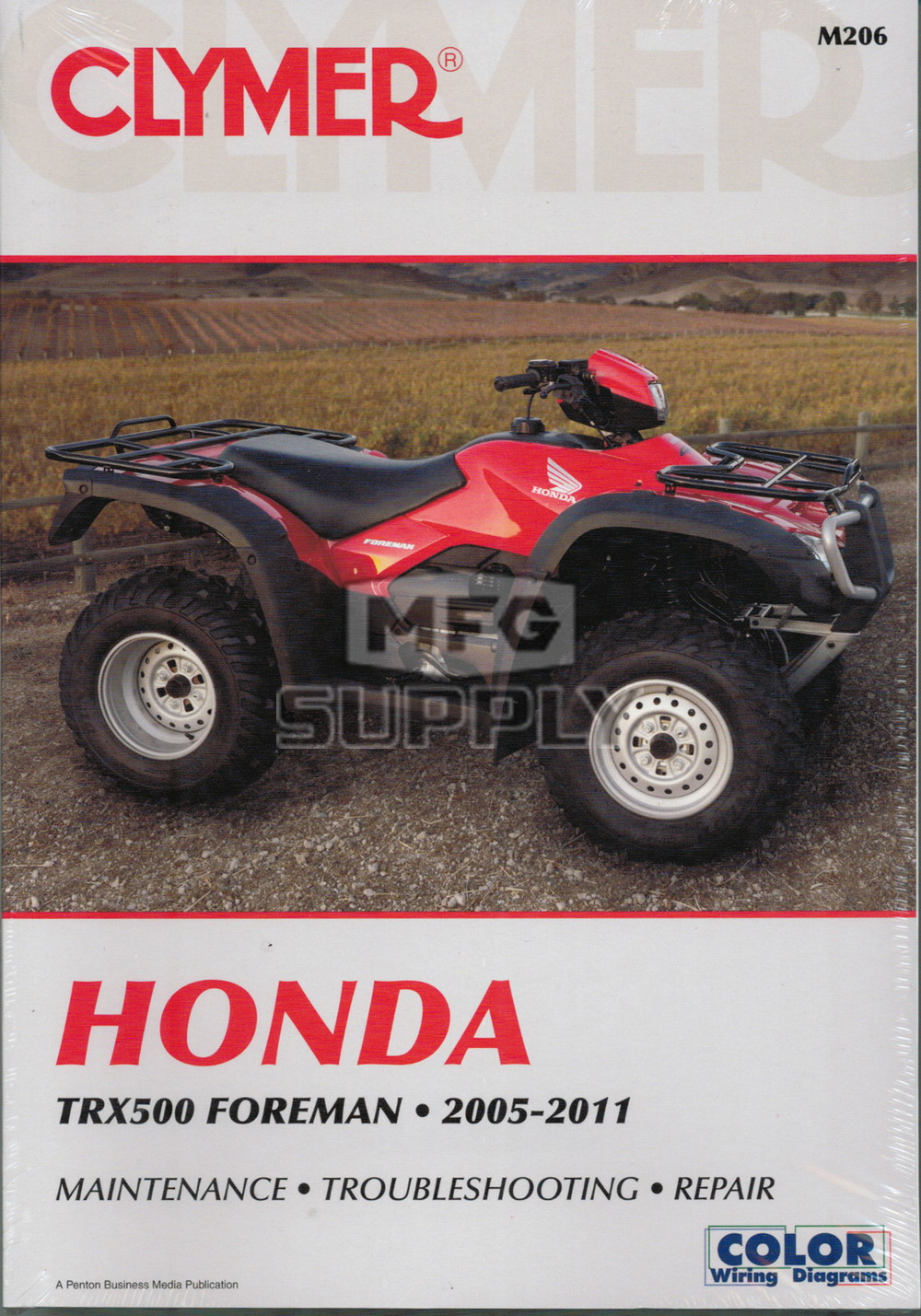 Cm206 05 11 Honda Trx500 Foreman Repair Maintenance Manual Rh Mfgsupply Com  Honda Rancher Parts Diagram