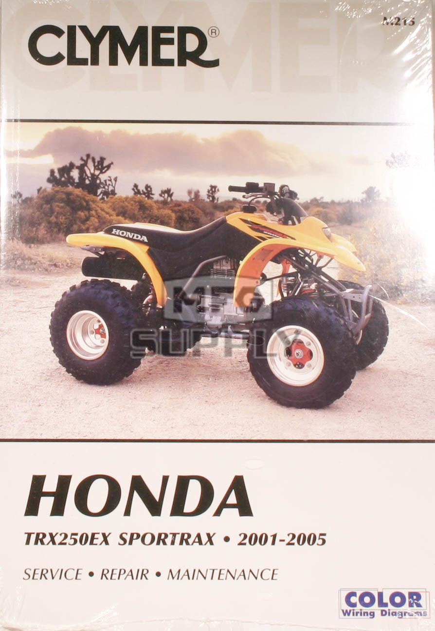 cm215 01 05 honda trx250ex sportrax repair maintenance manual rh mfgsupply com honda trx 250 service manual pdf honda trx250x repair manual