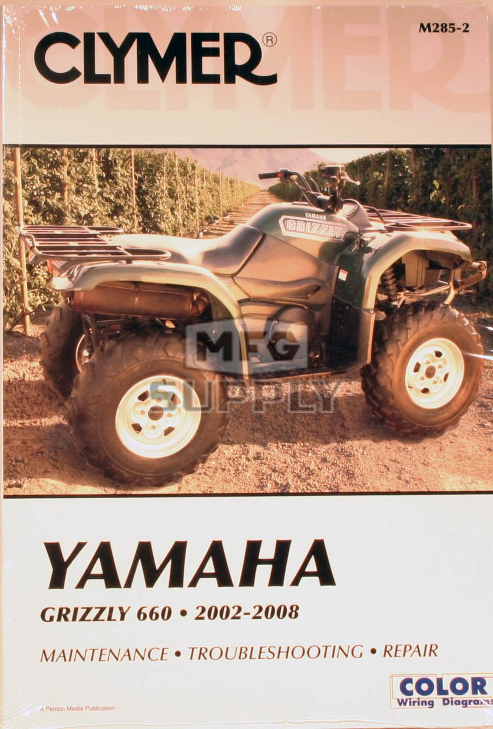 cm285 02 08 yamaha grizzly 660 repair maintenance manual atv rh mfgsupply com