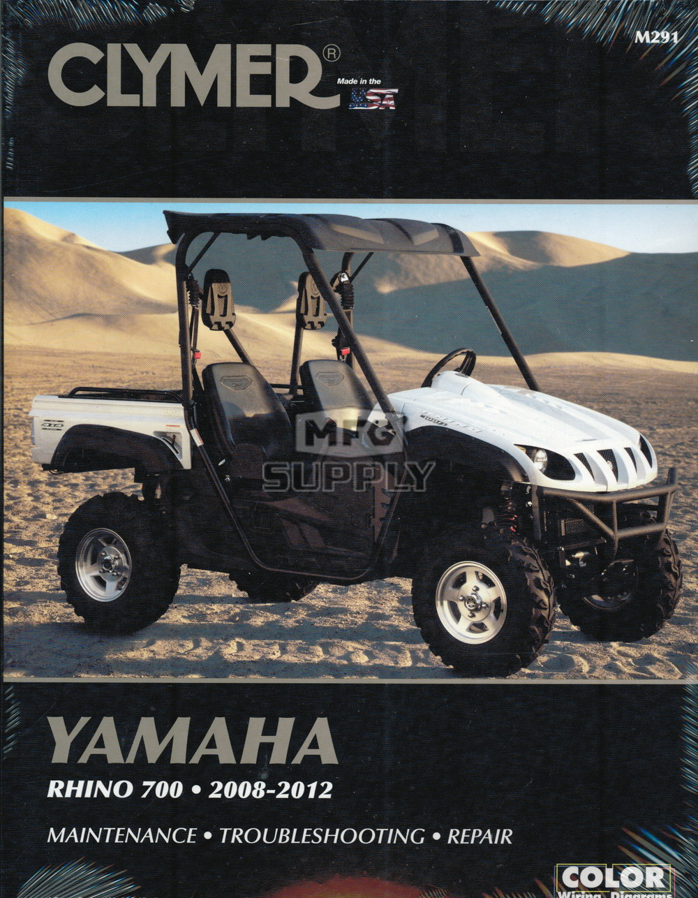 08-12 Yamaha Rhino 700 Repair & Maintenance manual