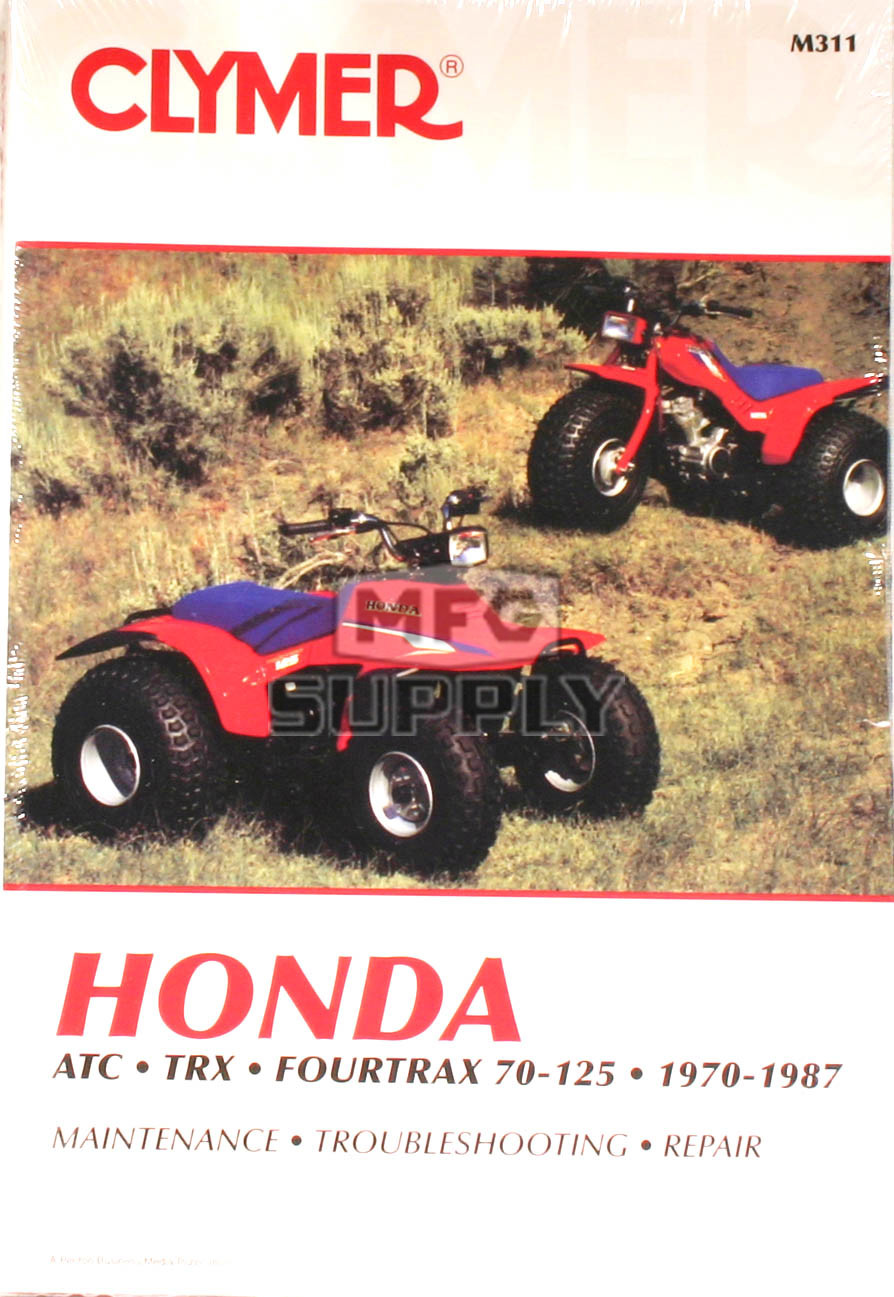 CM311 - 70-87 Honda ATC/TRX/Fourtrax 70-125 ATV models