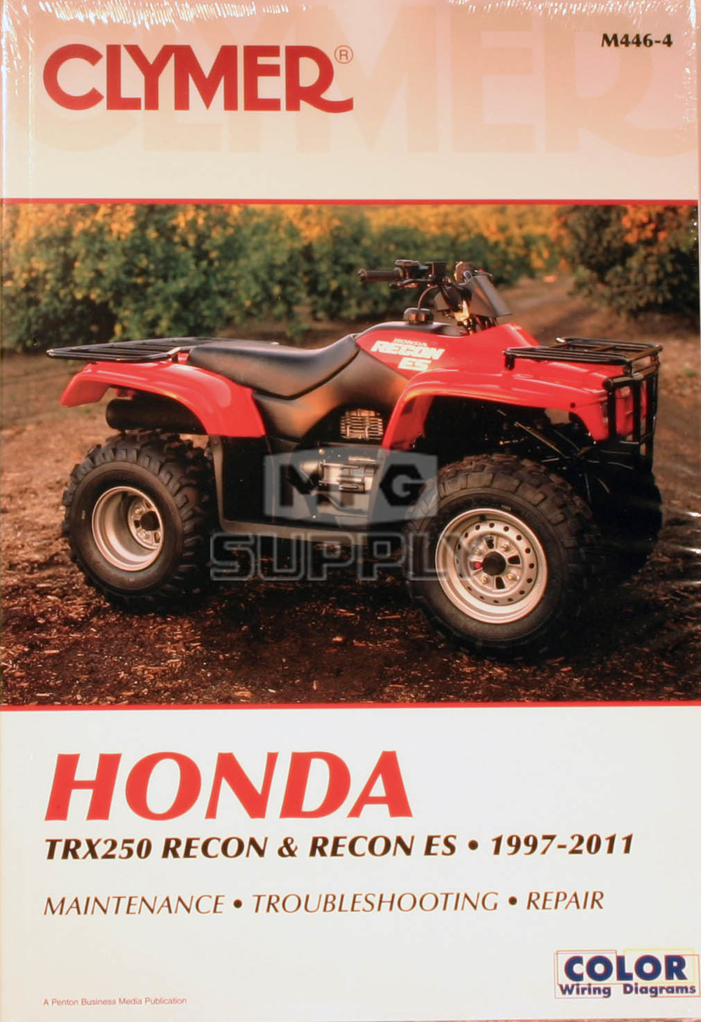 CM446 - 97-07 Honda TRX250/ES Recon Repair & Maintenance manual