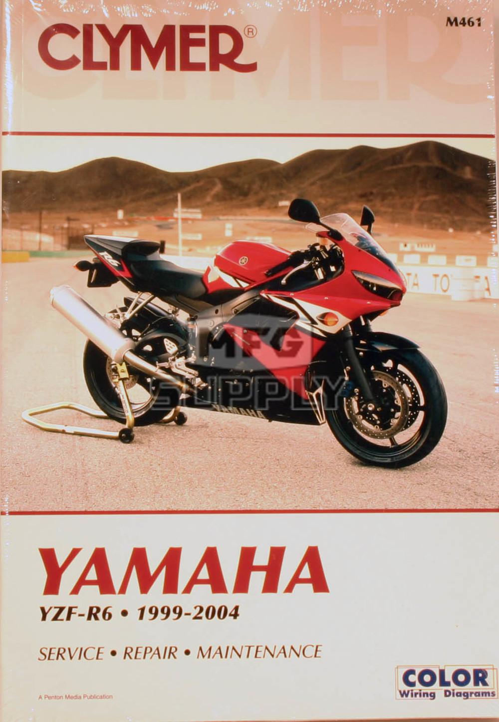 cm461 99 04 yamaha yzf r6 repair maintenance manual motorcycle rh mfgsupply com yamaha r6 99-02 service manual Yamaha R6 2011