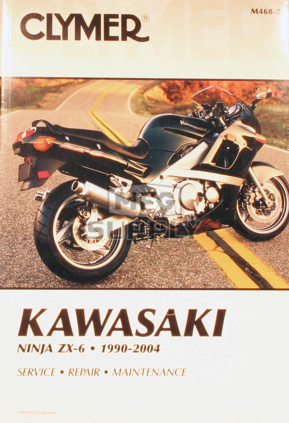 CM468 - 90-04 Kawasaki Ninja ZX-6 Repair & Maintenance manual