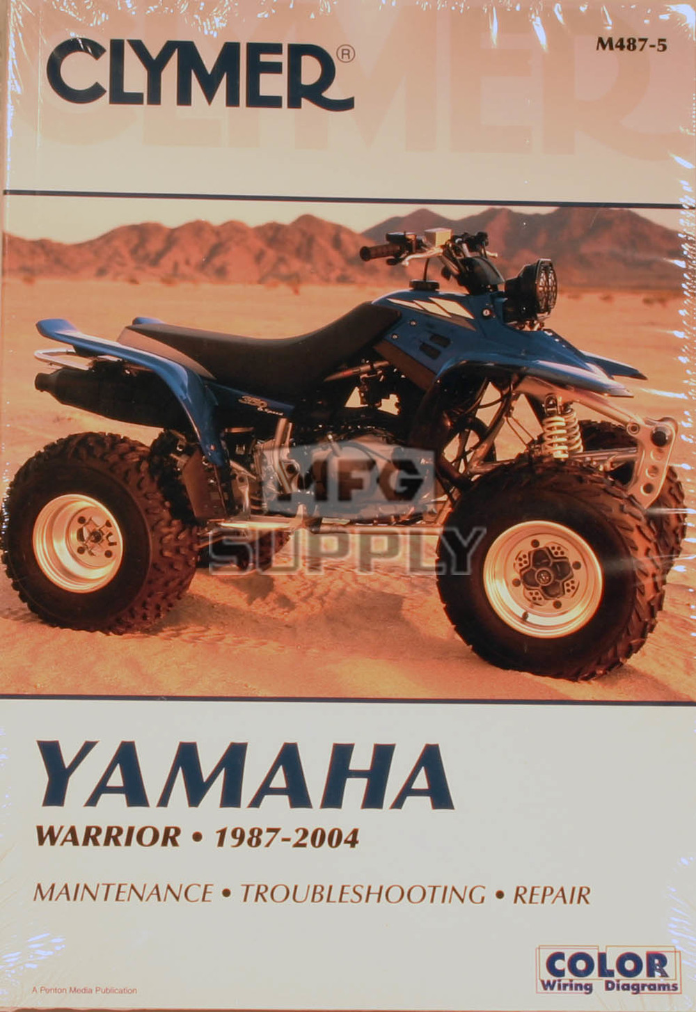 CM487 - 87-04 Yamaha YFM350X Warrior Repair & Maintenance manual ...
