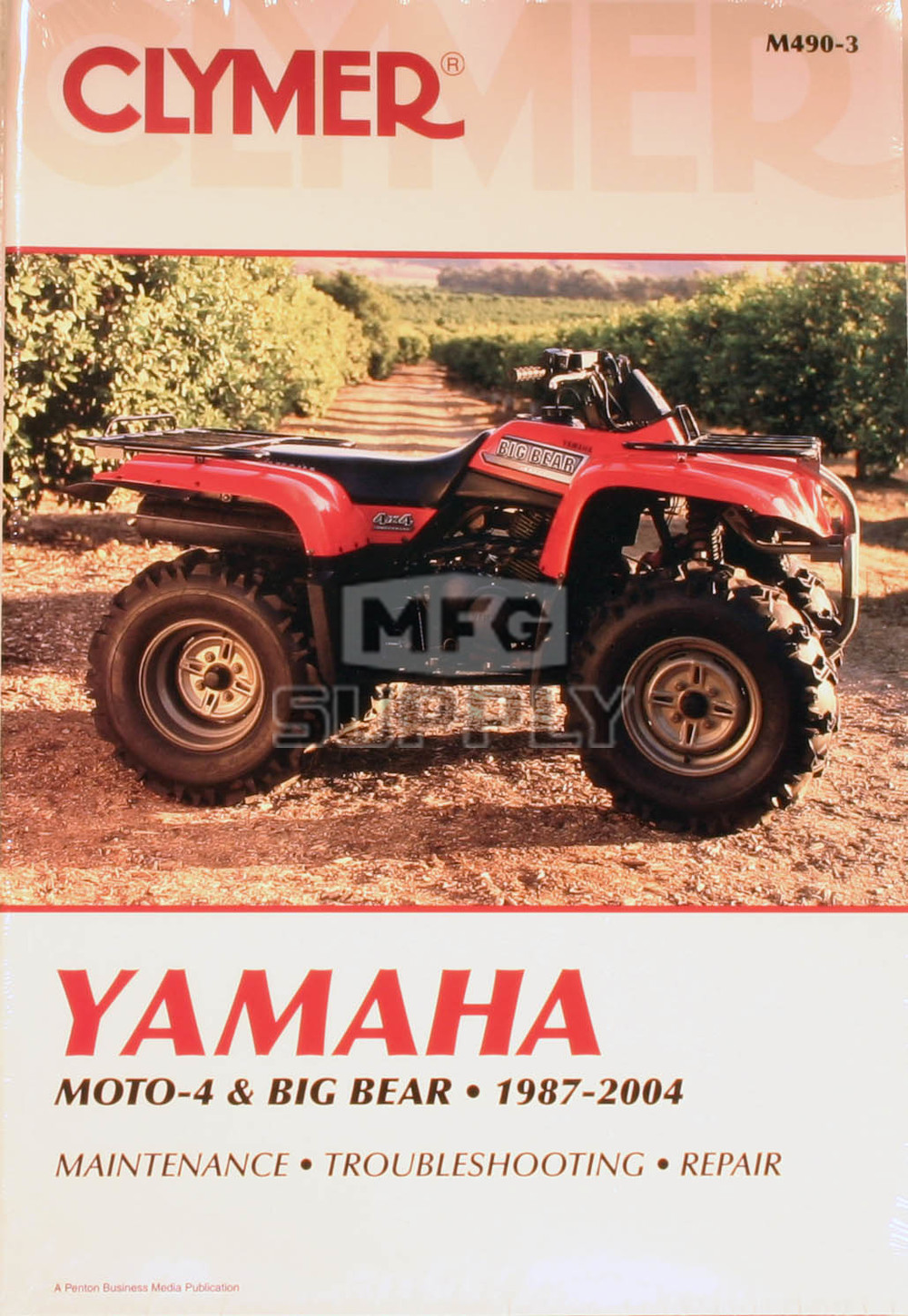CM490 - 87-04 Yamaha Moto-4 & Big Bear Repair & Maintenance manual