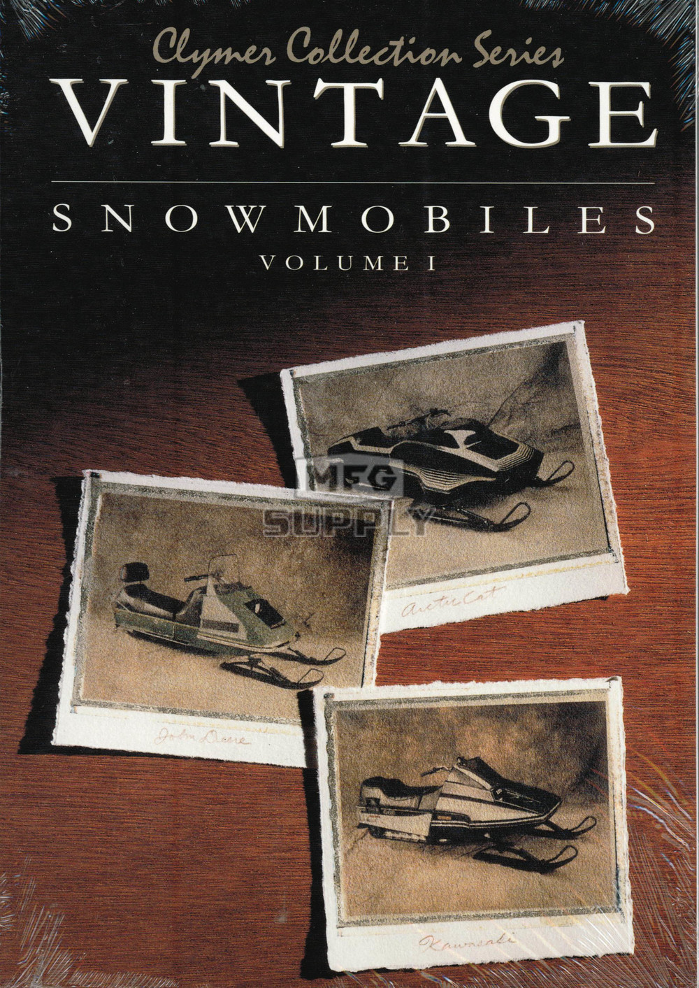 CS820 - Vintage Snowmobile Manual. 74-79 Arctic Cat, 72-77 John