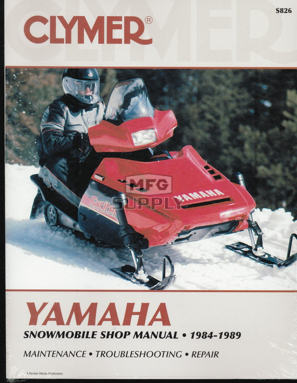 CS826 - 84-89 Yamaha Snowmobile Shop Manual