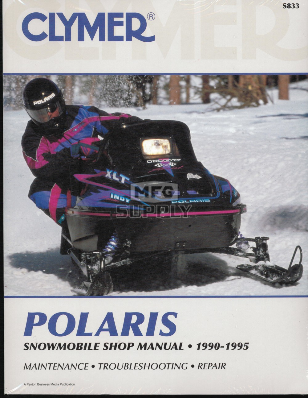 90-95 Polaris Snowmobile Shop Repair, Maintenance & Service Manual