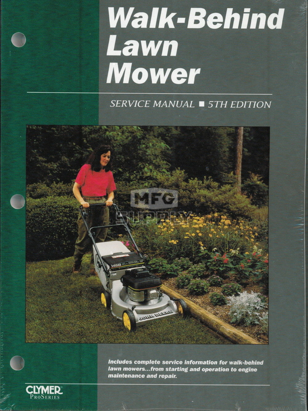 Walk Behind Lawn Mower Service Manual | Small Engine Parts | MFG Supply