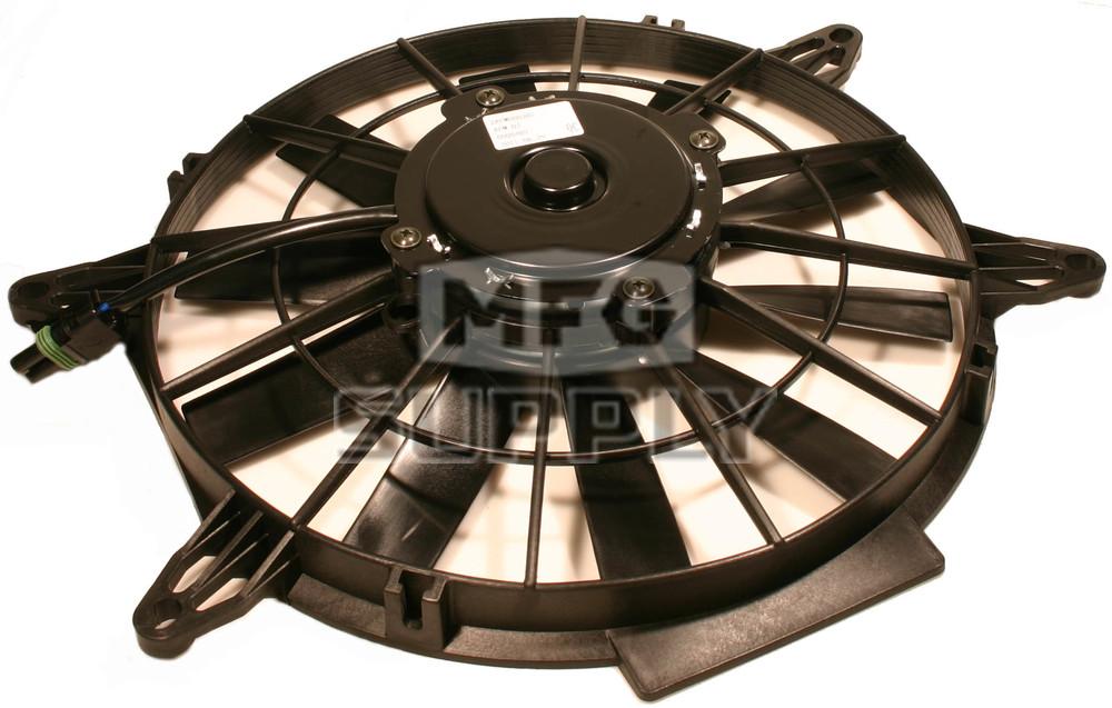 Polaris 2410383 atv cooling fan motor atv parts mfg supply for Radiator fan motor price