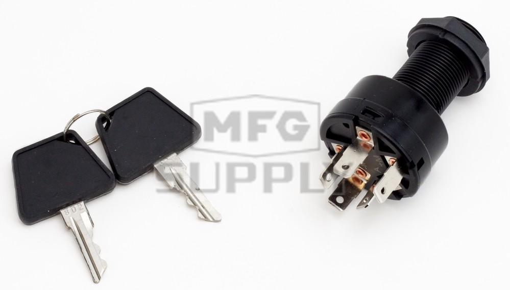 Sm 01558 Arctic Cat Aftermarket Ignition Switch With Keys For Various 1999 2008 Electric Start Model Snowmobiles Snowmobile Parts Mfg Supply