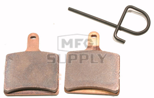 Full metal brake pads for many 2012 newer arctic cat for Metal craft trailers parts