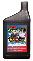 2512-P1000 - Case of 12 quarts of Synthetic Blend for Polaris Power Valve Snowmobiles (actual shipping charges apply)